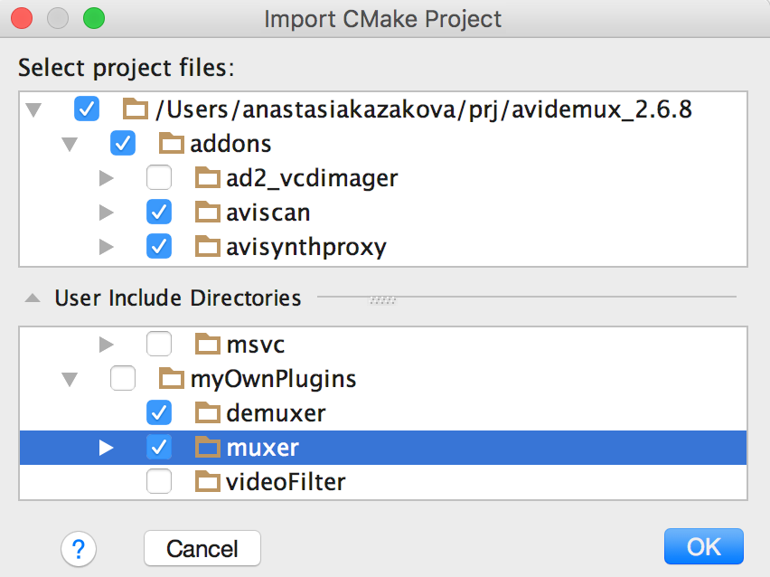 CMake project