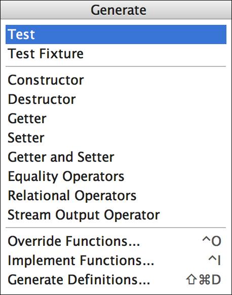 Unit Testing - Features | CLion