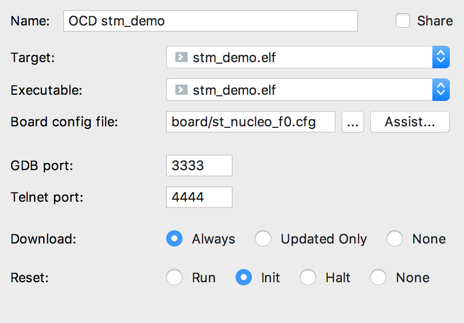 OpenOCD support