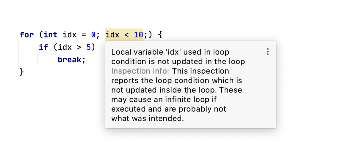 Loop condition is never updated