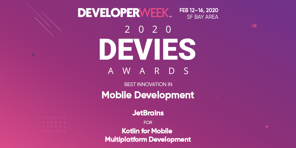 Best Innovation in Mobile Development 2020 Award