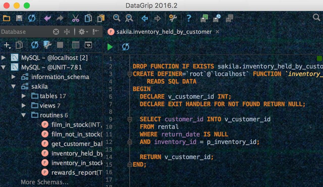What's New in DataGrip 2016 2 - DataGrip