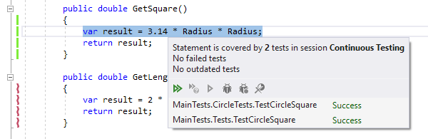 Improved 'Show Covering Tests'