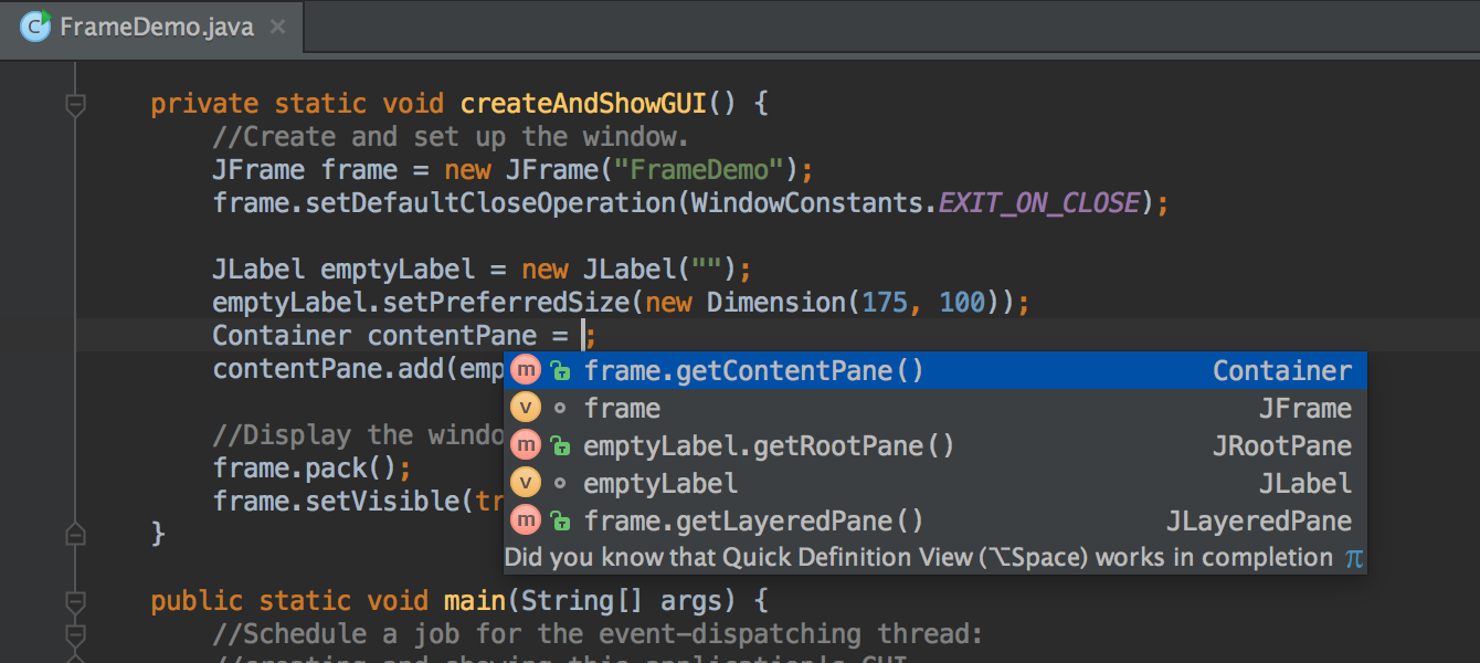Features - IntelliJ IDEA