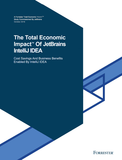 The Total Economic Impact™ of IntelliJ IDEA | Total Economic