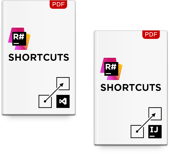 ReSharper keyboard shortcuts