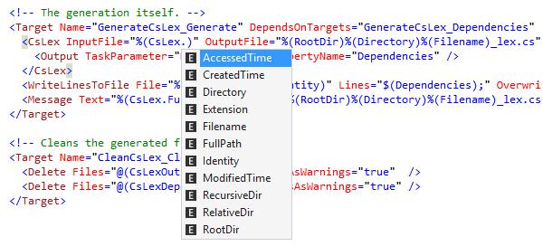 NAnt and MSBuild Scripts - Features   ReSharper