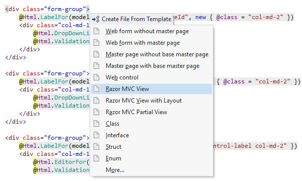Code Templates - Features | ReSharper