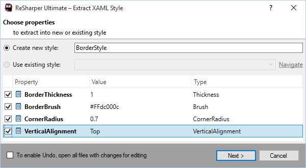 XAML Editing Tools - Features | ReSharper