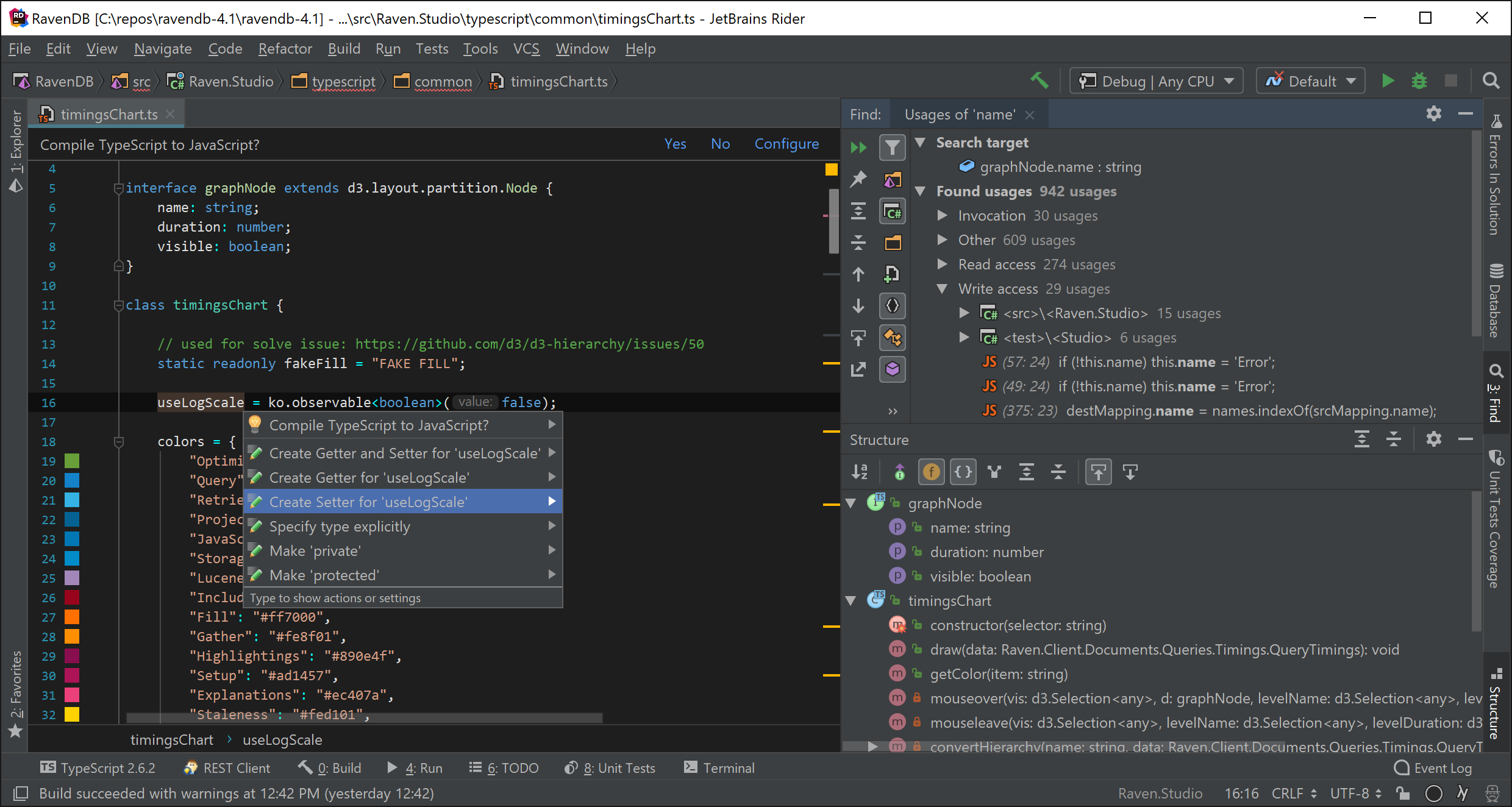 Web development assistance coming from WebStorm