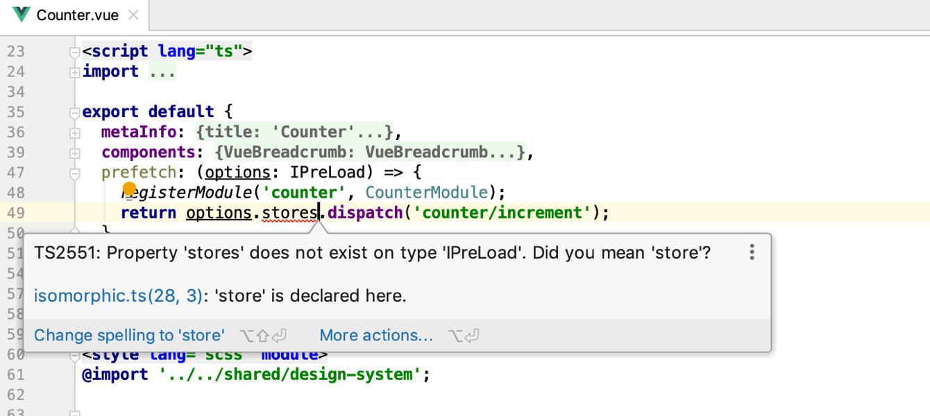 TypeScript in Vue