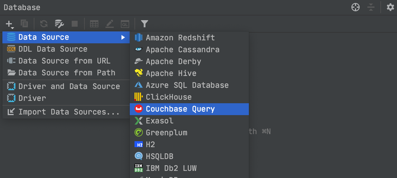 Couchbase support