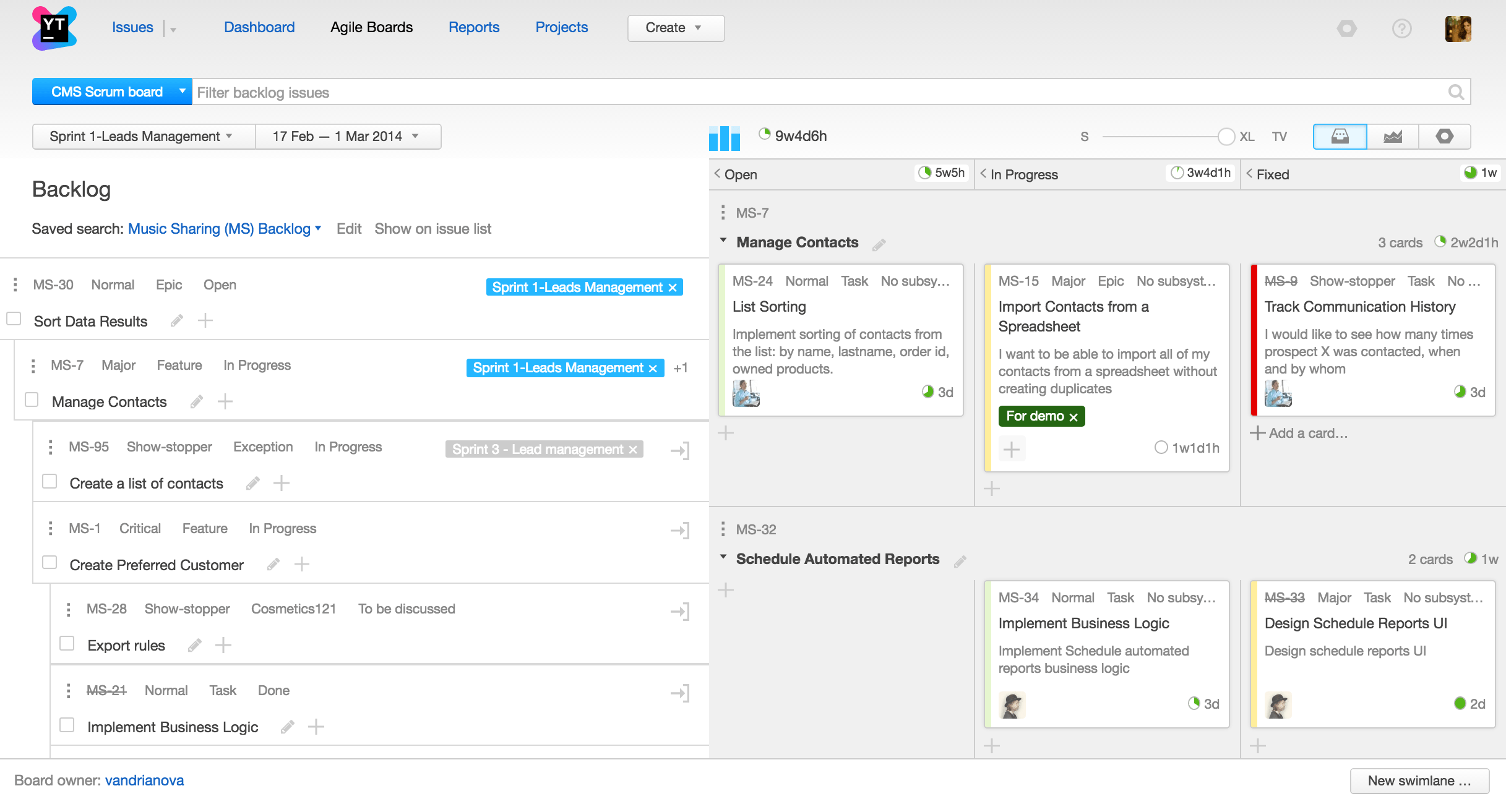 youtrack issue tracking and project management tool for software teams
