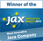 JAX Innovation Awards 2012: Most innovative Java Company