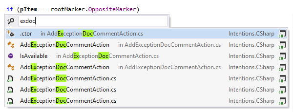 View recently edited code locations with ReSharper
