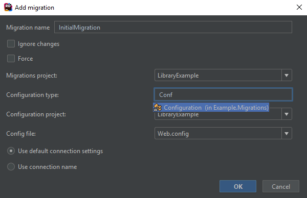 Entity Framework support in Rider