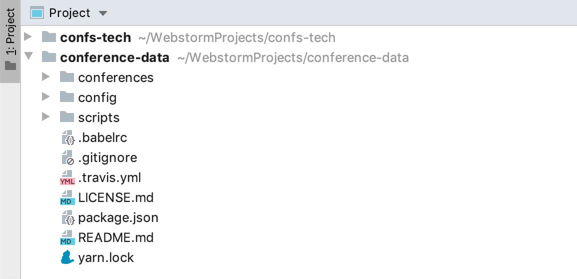Open multiple projects in one window