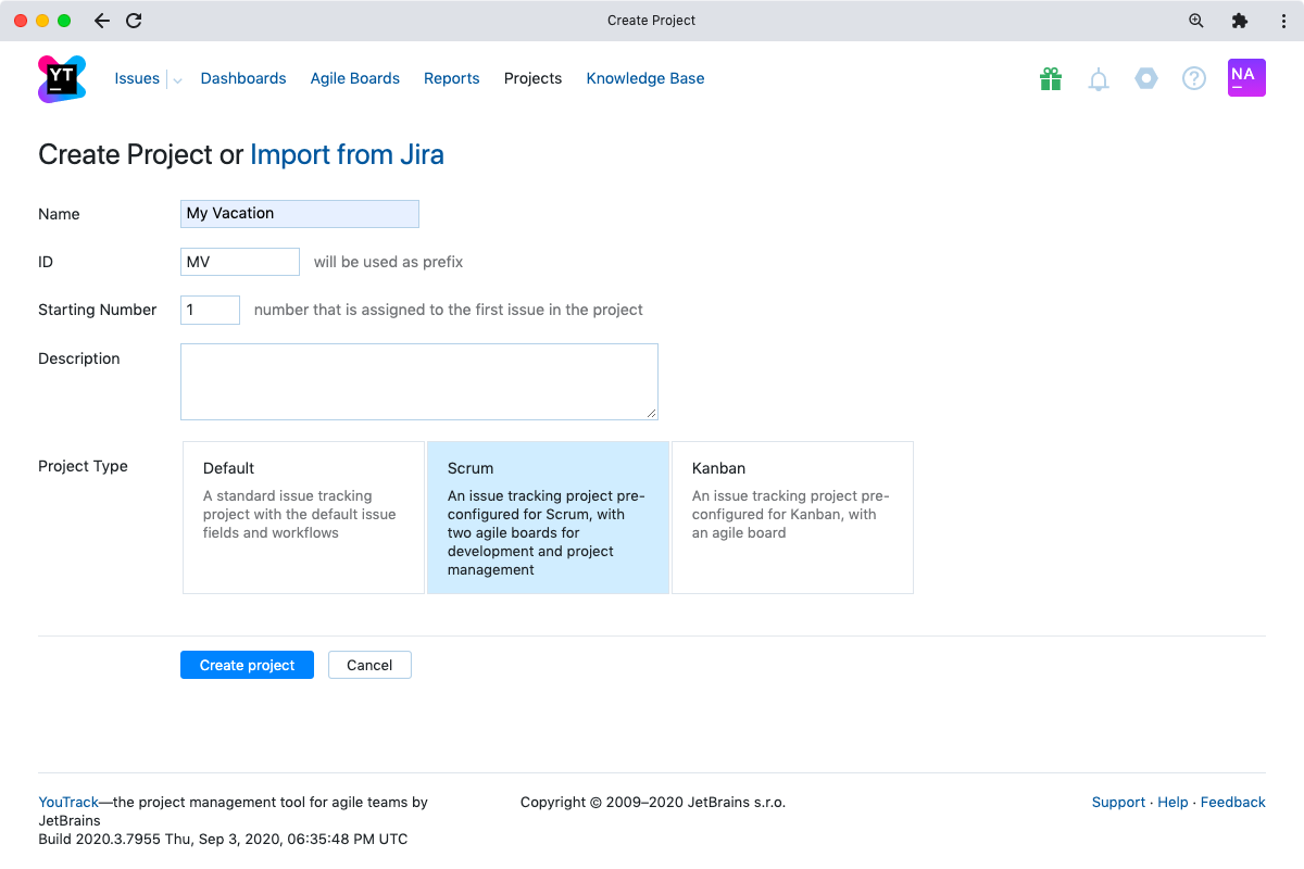 Agile Project Management Features Youtrack